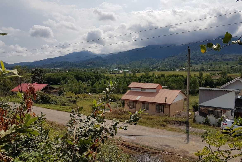 زمین فروشی شمال لاهیجان گیلان 3300 متری ویو عالی